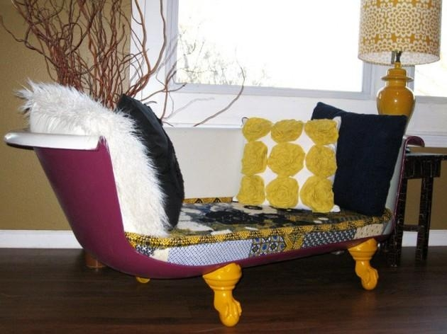 Diy Repurposed Bathtubs Throughout Clawfoot Tub Sofas (Image 14 of 20)