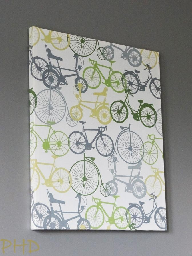 Diy Stretched Fabric Wall Art Pertaining To Fabric Canvas Wall Art (View 19 of 20)