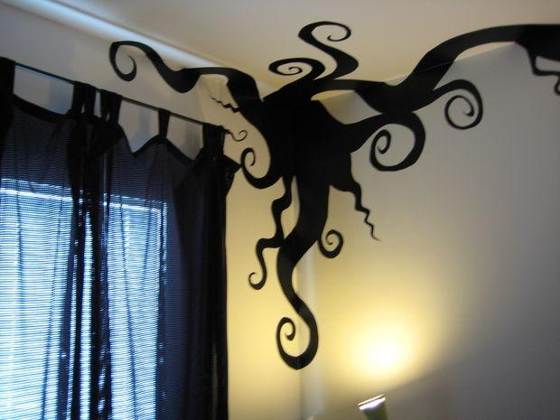 Diy Vinyl Wall Art: 12 Steps (With Pictures) Pertaining To Tim Burton Wall Decals (Image 11 of 20)
