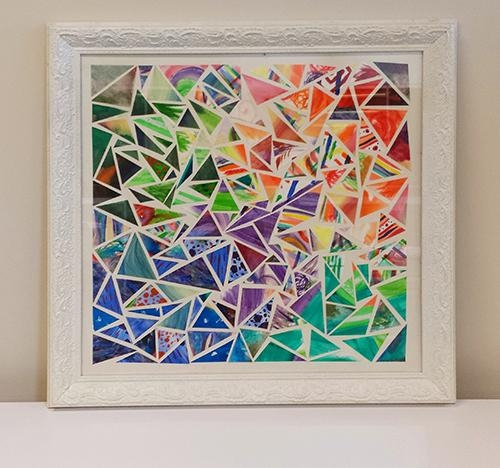Diy Wall Art – Gohaus Inside Kaleidoscope Wall Art (View 6 of 20)