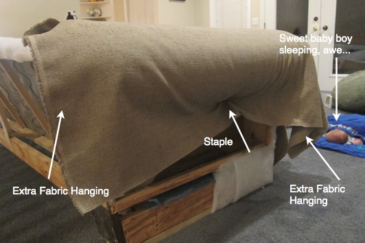 Do It Yourself Divas: Diy Strip Fabric From A Couch And Reupholster It Within Reupholster Sofas Cushions (Image 14 of 20)