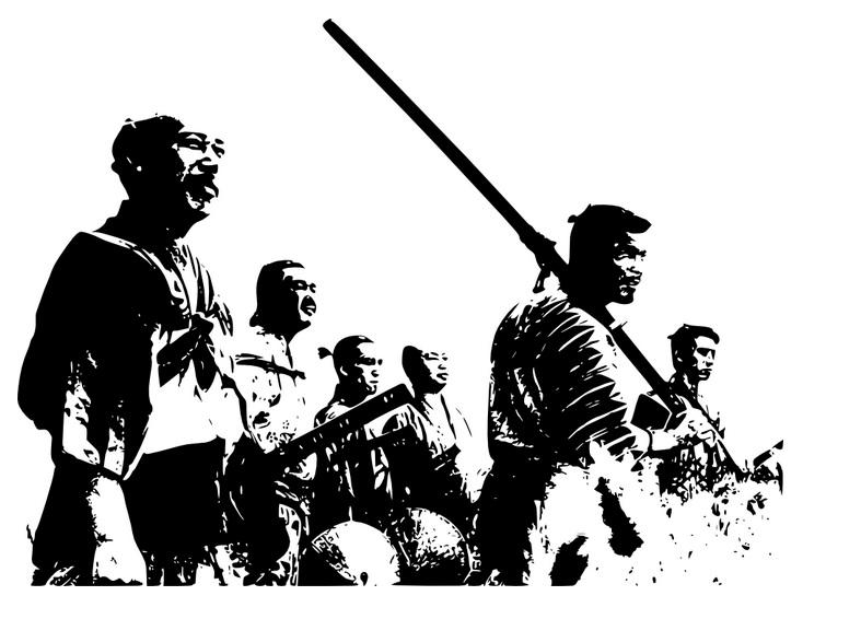 Do It Yourself Wall Art: Seven Samurai In Your Home! – Cube Breaker Throughout Samurai Wall Art (Image 9 of 20)