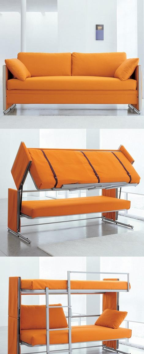 Doc Is A Sofa That Turns Into A Bunk Bed Within Sofas Converts To Bunk Bed (Image 12 of 20)