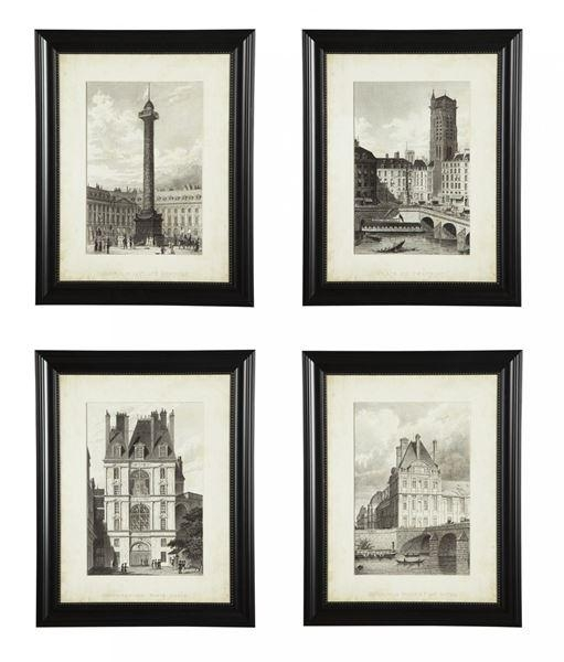 Dolph 4 Piece Wall Art Set | Wichita Furniture – Furniture For 4 Piece Wall Art (Image 12 of 20)