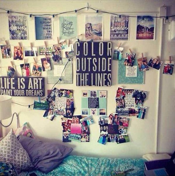 Dorm Room Wall Decorating Ideas Of Good Decorating Dorm Walls Best With  Regard To College Dorm Part 40