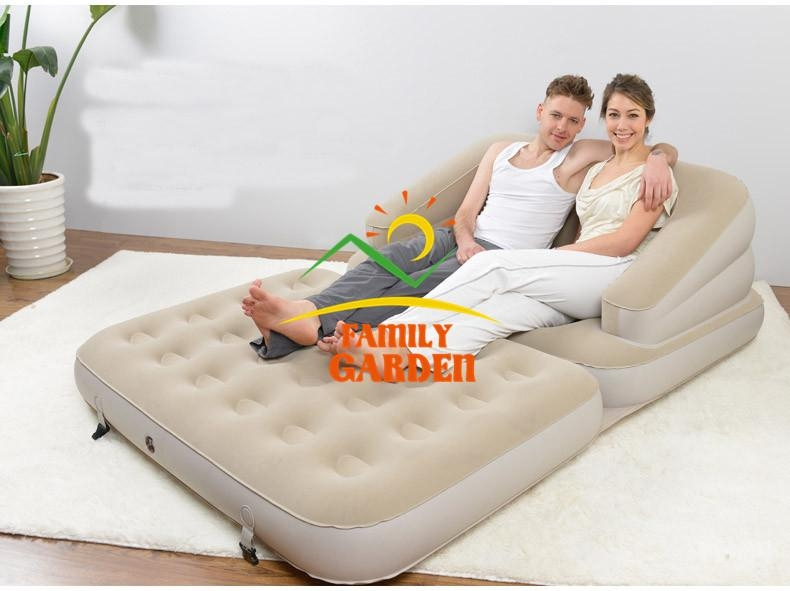 Double Pull Out Sofa Bed Sofabed Double Chair Bed Z Guest Fold Out In Inflatable Pull Out Sofas (Image 4 of 20)