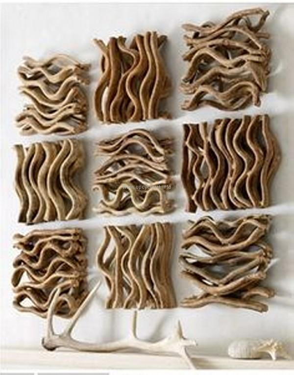 Driftwood Wall Art Ideas | Upcycle Art Within Driftwood Wall Art (Image 10 of 20)