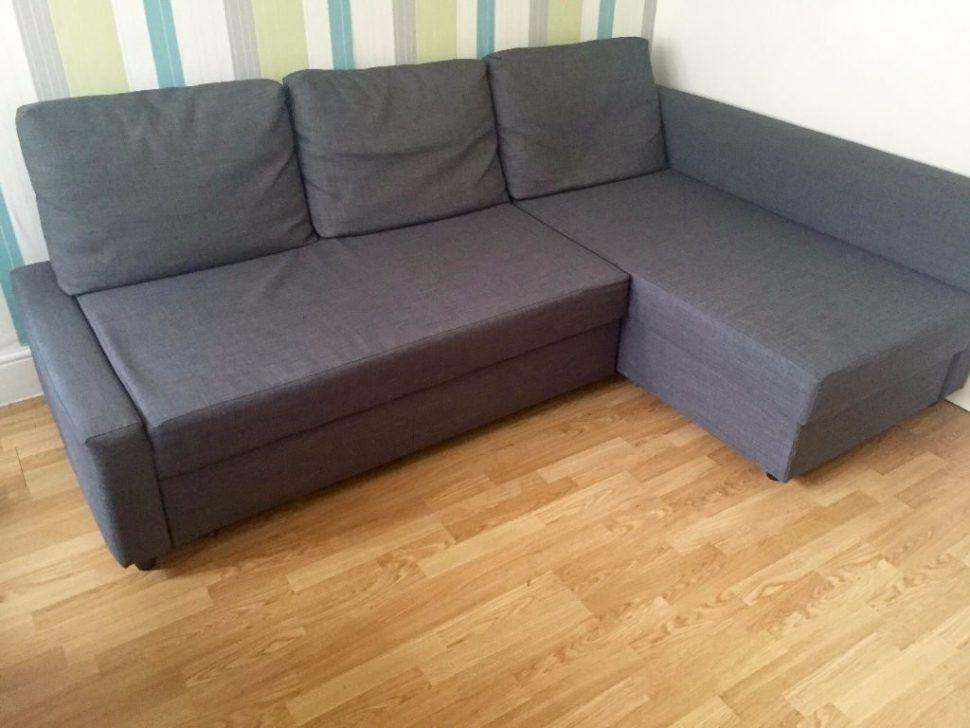 ▻ Sofa : 39 Ikea Friheten Corner Sofa Bed With Storage Dark Grey Within Corner Sofa Beds (Image 1 of 20)