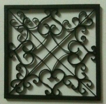 Easy Diy Iron Wall Art!: 6 Steps (With Pictures) Intended For Faux Wrought Iron Wall Art (Image 9 of 20)