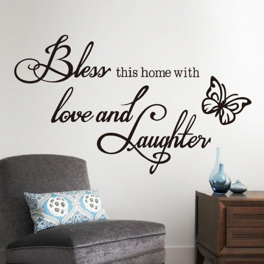 Ebay Wall Stickers Kitchen For Walls Decals Walmart Art Throughout Walmart Wall Stickers (Image 7 of 20)