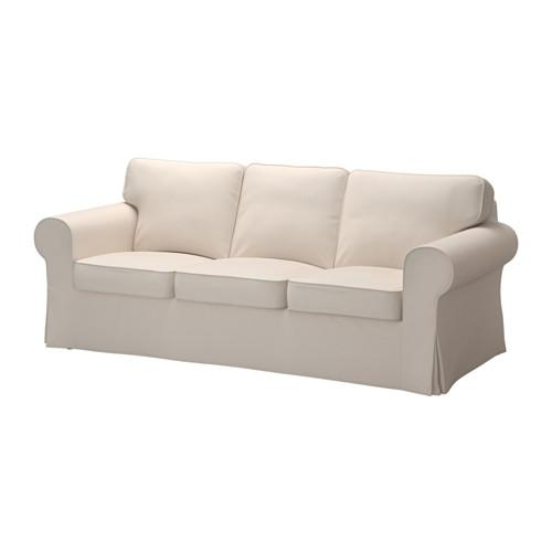 Ektorp Sofa – Lofallet Beige – Ikea For Beige Sofas (Photo 1 of 20)