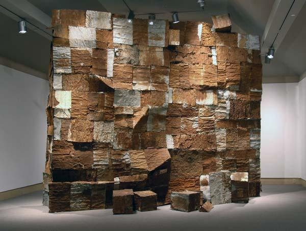 El Anatsui: Gawu | Artworks Intended For African Metal Wall Art (Image 14 of 20)