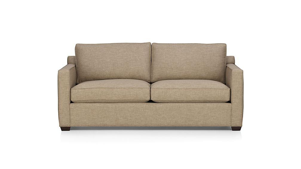 Elegant Queen Size Sofa Sleeper Davis Queen Sleeper Sofa Crate And In Crate And Barrel Sofa Sleepers (Image 10 of 20)