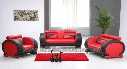 Elegant Red And Black Living Room Set Designs – Red Living Room Regarding Black And Red Sofas (Image 9 of 20)