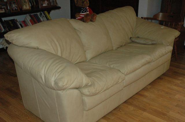 Elegant Sealy Leather Sofa Slumberland Sofas Interiorvues Pertaining To Image 4