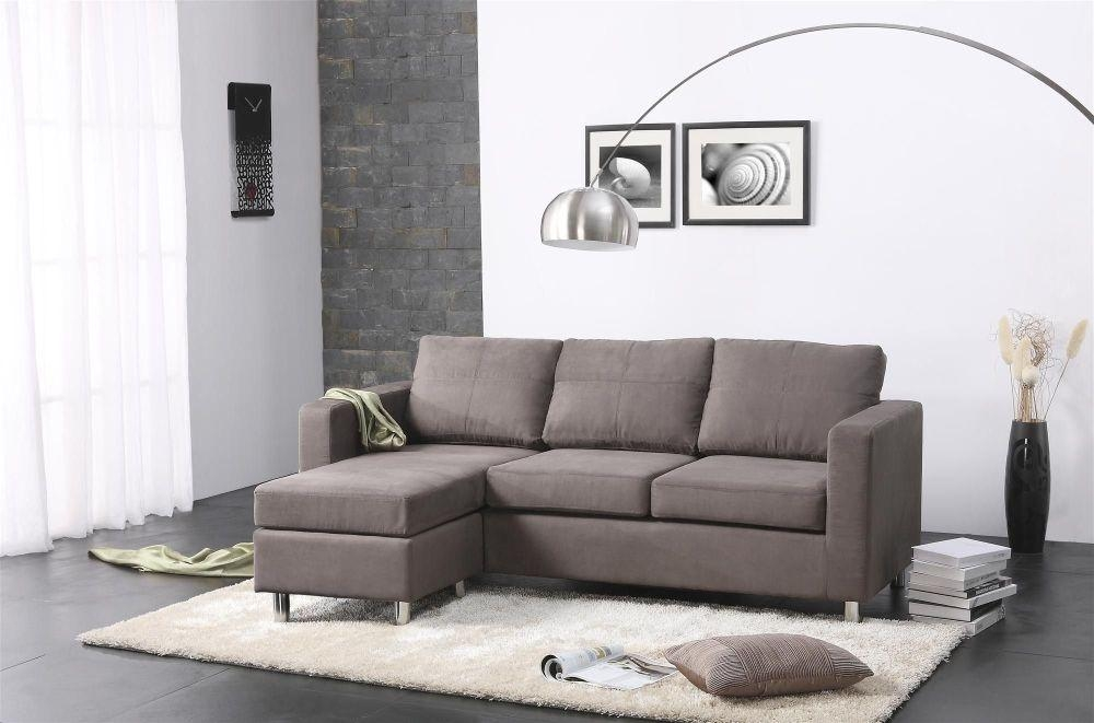 Elegant Sectional Sofas For Small Spaces That Operate Inside Small L Shaped Sectional Sofas (View 4 of 20)