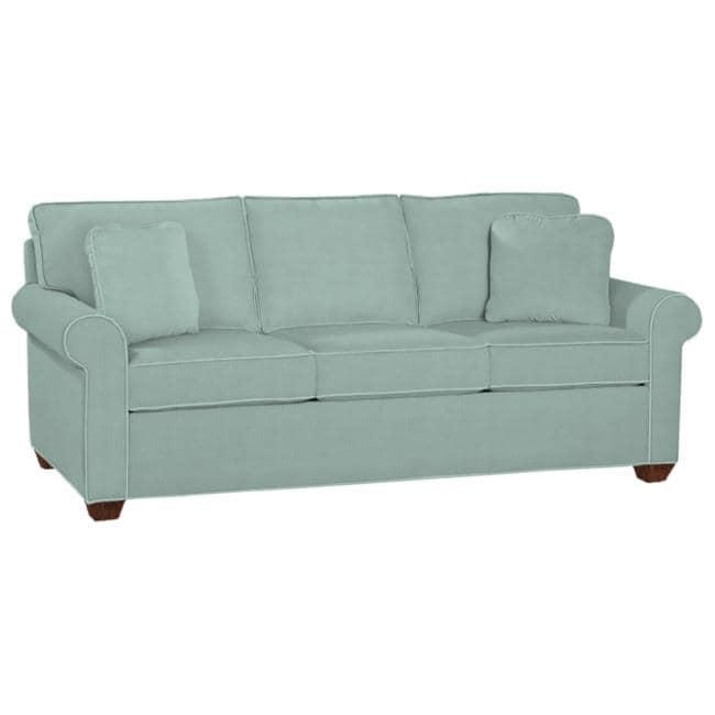 Ellen Fabric Seafoam Sofa – Free Shipping Today – Overstock Regarding Seafoam Green Couches (Image 6 of 20)