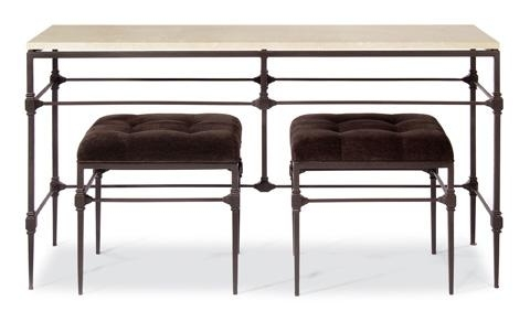 Ellsworth Metal Console Table | 424 916S/916 | Bernhardt For Bernhardt Console Tables (View 7 of 20)