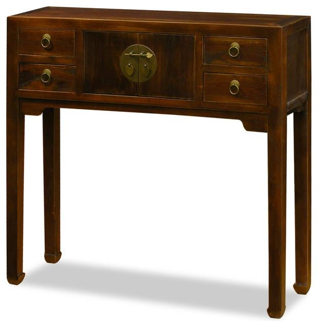 Elmwood Console Table – Asian – Console Tables  China Pertaining To Asian Sofa Tables (Image 16 of 20)
