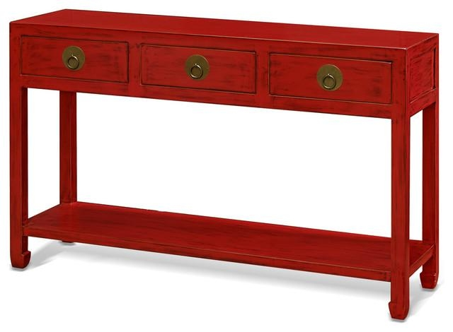 Elmwood Ming Style Console Table – Asian – Console Tables – In Asian Sofa Tables (Image 18 of 20)
