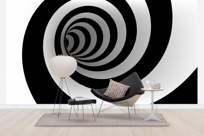Embellish Your Home Decor With The Optical Art Inside Optical Illusion Wall Art (View 18 of 20)