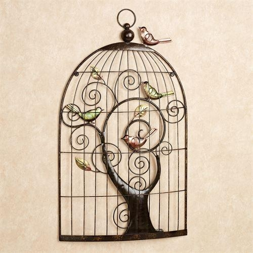 Enchanting Sonnet Birdcage Metal Wall Art Intended For Metal Birdcage Wall Art (View 14 of 20)