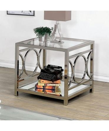 End Tables – Slick Furniture Online Store Throughout Chrome Sofa Tables (Image 9 of 20)