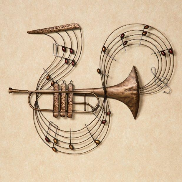 Excellent Music Notes Metal Wall Art Music Inspires Tin Sign Wall Pertaining To Music Metal Wall Art (Image 6 of 20)