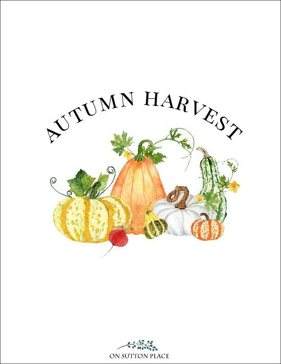 Exclusive Free Fall Printables For Diy Wall Art – On Sutton Place Pertaining To Autumn Inspired Wall Art (View 13 of 20)