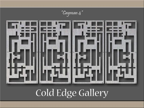 Extra Large Metal Wall Art Art Decor Abstract Pertaining To Large Metal Art (Image 7 of 20)