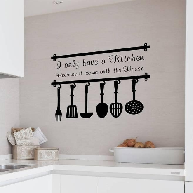 Extraordinary Diy Kitchen Cool Diy Kitchen Wall Decor – Home Pertaining To Cool Kitchen Wall Art (Image 14 of 20)