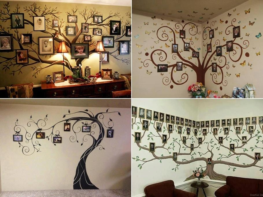 Fab Ideas On Family Tree Wall Art Decor For Wall Art Decor For Family Room (View 18 of 20)