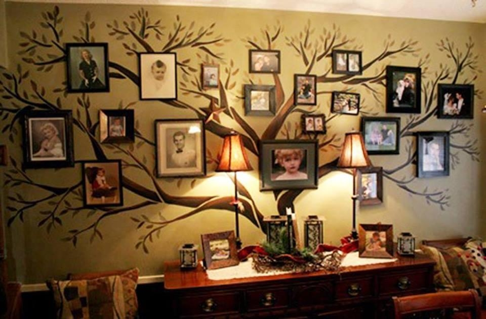 Fab Ideas On Family Tree Wall Art Decor Intended For Family Photo Wall Art (Photo 16 of 20)