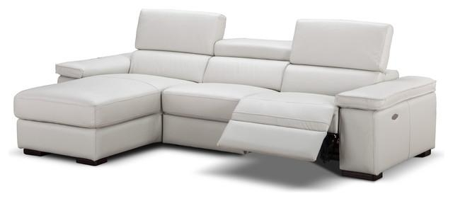 Fabia Italian Leather Sectional Sofa With Power Recliner In Italian Recliner Sofas (View 12 of 20)