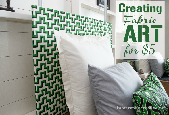 Fabric Wall Art Decor – Infarrantly Creative For Stretched Fabric Wall Art (View 2 of 20)