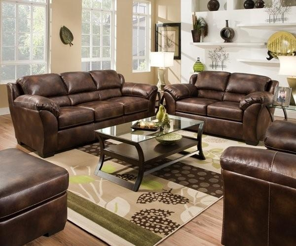 Fabulous Bonded Leather Reclining Sofa With Furniture Of America Regarding Simmons Leather Sofas And Loveseats (Image 12 of 20)