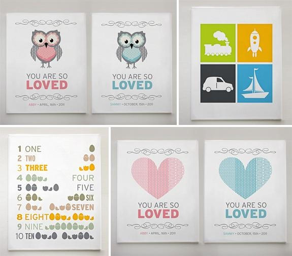Fabulous Canvas Prints For Baby Room On Home Decor Arrangement In Canvas Prints For Baby Nursery (View 3 of 20)