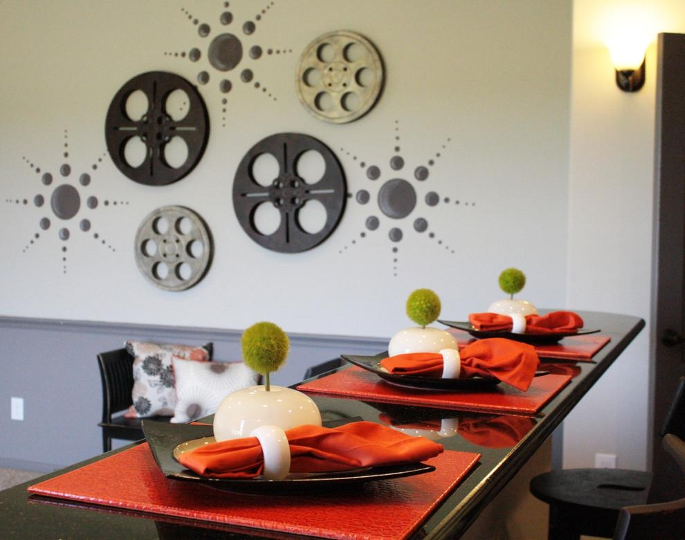 Fabulous Film Reel Wall Art Decorating Ideas Gallery In Home With Film Reel Wall Art (Image 13 of 20)
