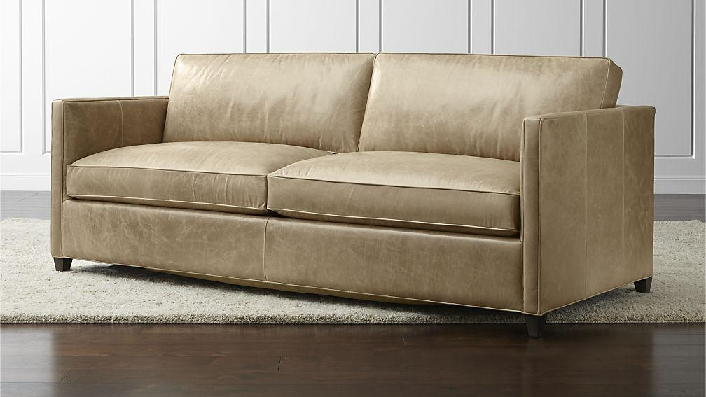 Fabulous Leather Sleeper Sofas Contemporary Leather Queen Sofa Bed With Queen Convertible Sofas (Image 8 of 20)