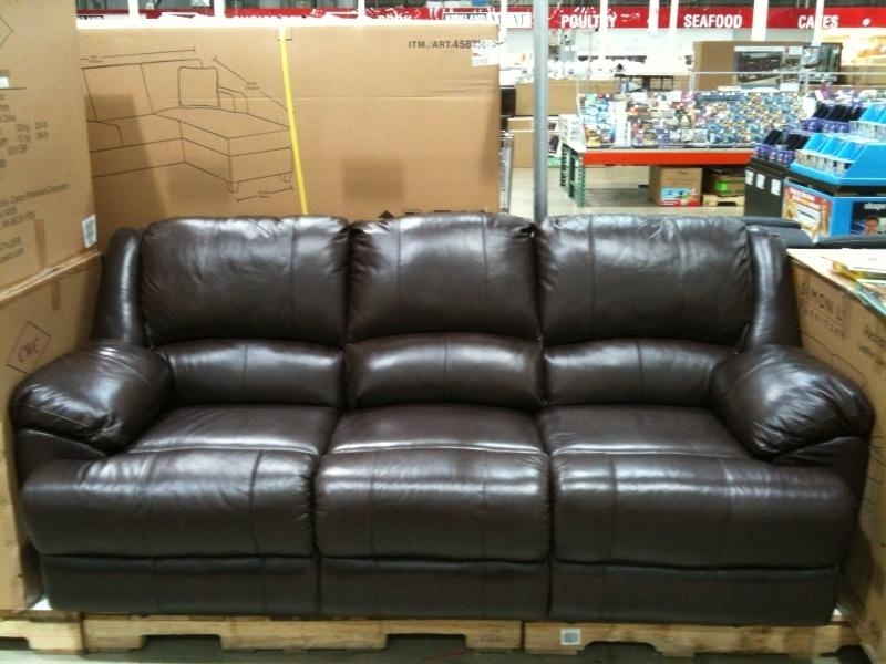 Fair Cheers Clayton Leather Sofa Costco Review For Design Home Regarding Cheers Leather Sofas (View 5 of 20)