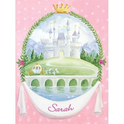 Fairytale Princess Castle Canvas Reproduction And Artwork In Decor With Princess Canvas Wall Art (Image 10 of 20)