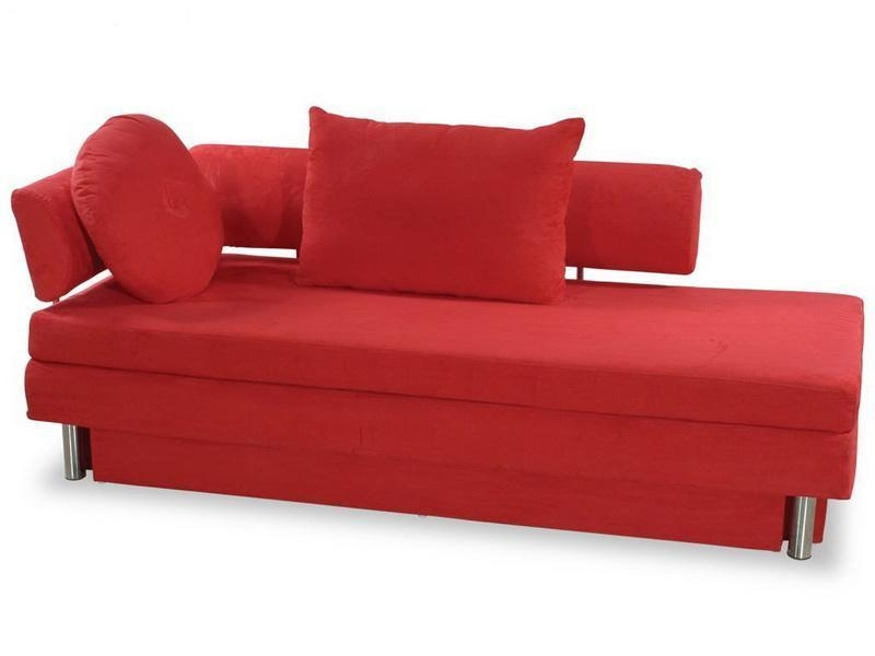 Fancy Red Sofa Sleeper Small Modern Sofa Contemporary Sleeper Sofa Within Small Modern Sofas (View 5 of 20)