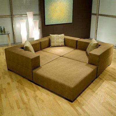 Fat Ed Sectional – Converts From A Giant Couch To Four Separate Intended For Giant Sofas (View 2 of 20)