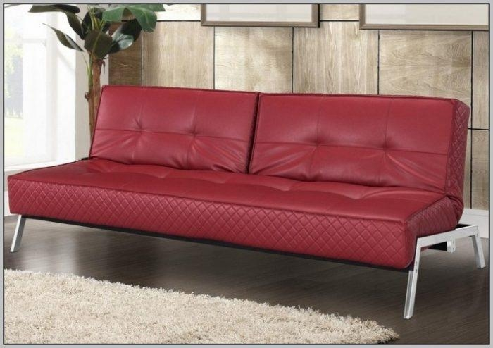 Faux Leather Sectional Sleeper Sofa – Sofas : Home Decorating For Faux Leather Sleeper Sofas (View 12 of 20)