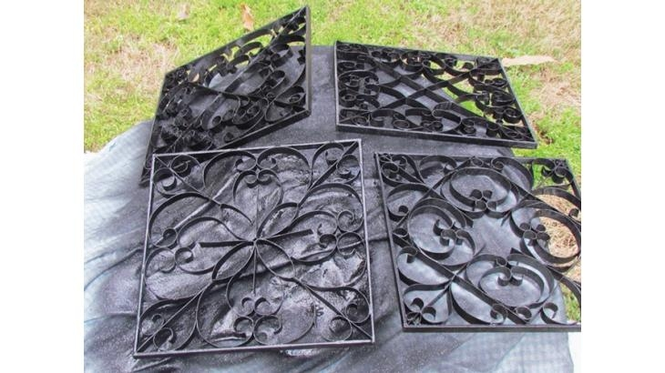 Faux Wrought Iron Wall Art Within Faux Wrought Iron Wall Art (Image 18 of 20)