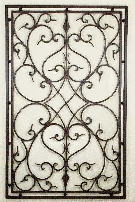 Faux Wrought Iron Wall Decor – Wrought Iron Wall Decor Ideas For In Faux Wrought Iron Wall Decors (View 11 of 20)