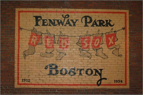 Fenway Park Boston Red Sox Brick Wall Art I Love Word Art With Intended For Red Sox Wall Art (Image 13 of 20)