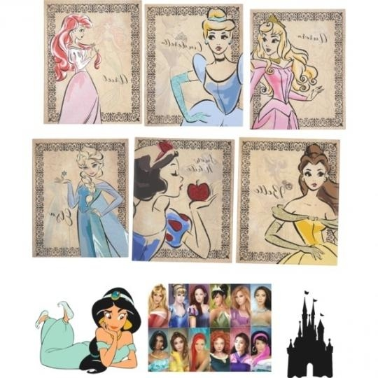 First Class Disney Princess Canvas Wall Art | Best Office Chair Blog's Within Disney Princess Wall Art (Image 14 of 20)