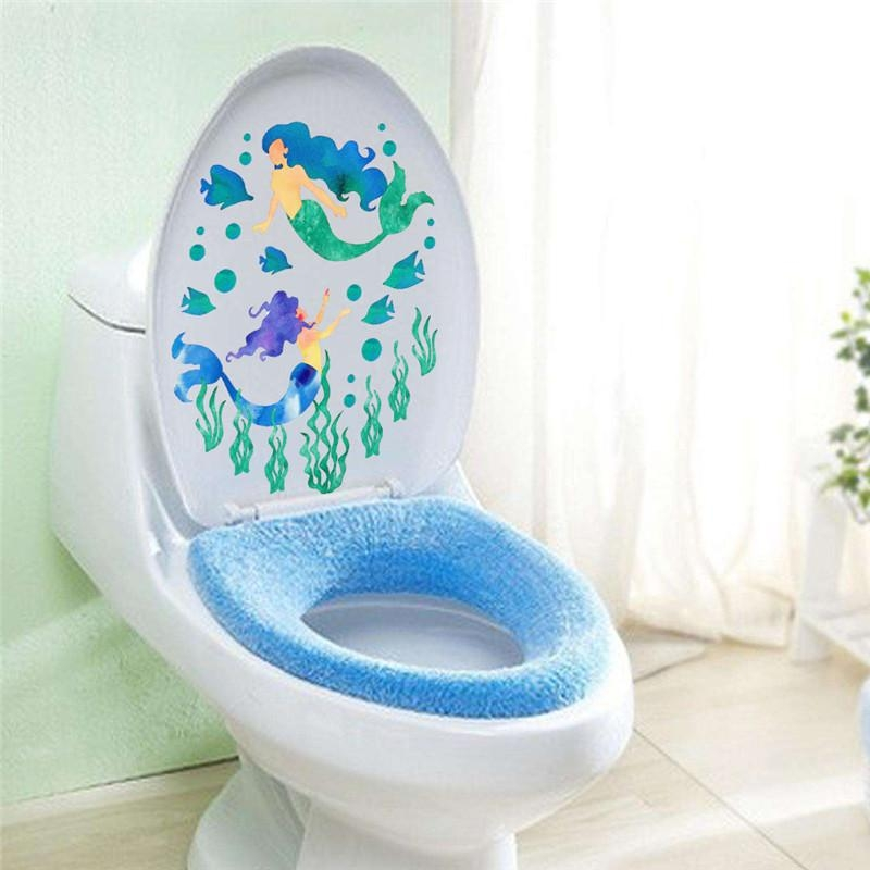 Fish Bathroom Decor Promotion Shop For Promotional Fish Bathroom With Regard To Fish Decals For Bathroom (Image 12 of 20)