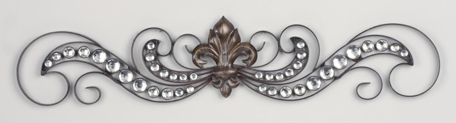 Fleur De Lis Wall Art For Property – Researchpaperhouse With Metal Fleur De Lis Wall Art (View 6 of 20)